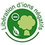 couette liberation ions negatifs